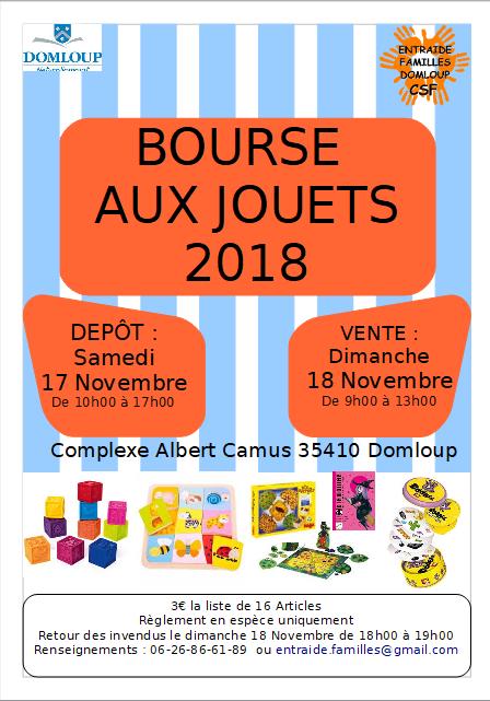 Familles Domloup Aux La Bourse JouetsEntraide Csf ZwXOkiuTPl